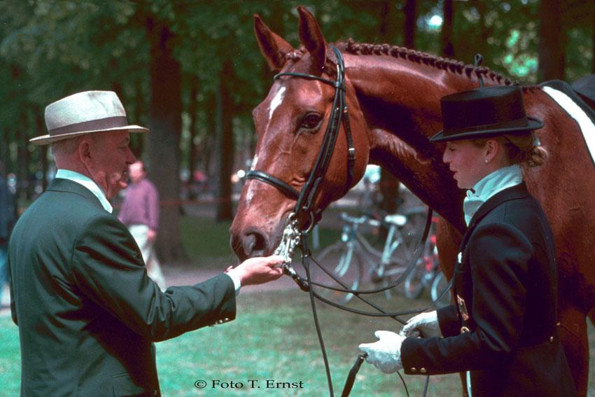 Der Doktor und Isabell Werth mit Gigolo / Foto: Tammo Ernst