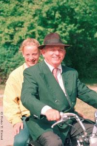 Dr. Uwe Schulten Baumer mit Isabell Werth / Foto: T. Ernst