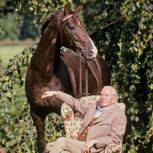 Otto Schulte-Frohlinde mit Donnerhall, Foto Bernd Eylers